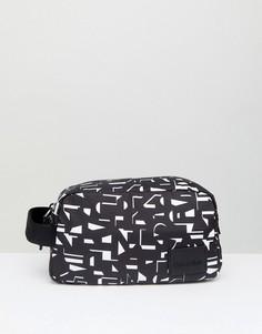 Несессер с логотипом Calvin Klein - Черный