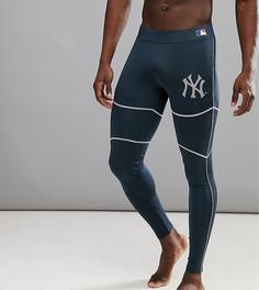 Спортивные джоггеры с логотипом New York Yankees Majestic - Темно-синий