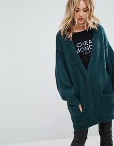 Оверсайз-кардиган Cheap Monday - Зеленый