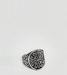 Серебристое массивное кольцо Reclaimed Vintage Inspired эксклюзивно для ASOS - Серебряный