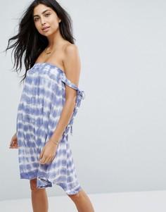 Пляжное платье тай‑дай Surf Gypsy - Мульти