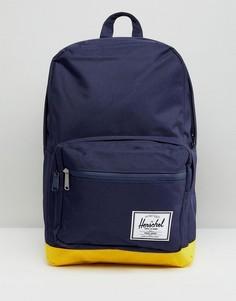 Рюкзак из хлопковой парусины Herschel Pop Quiz - Темно-синий
