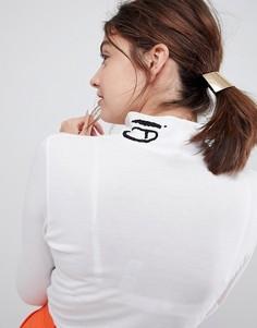 Узкая изогнутая заколка для волос ASOS - Золотой