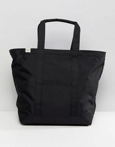 Черная сумка-тоут Herschel Bamfield - Черный