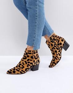 Ботинки с леопардовым принтом Office Aruba - Мульти
