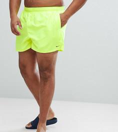 Желтые короткие шорты для плавания Nike Plus Volley NESS8830-737 - Желтый