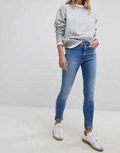 Джинсы скинни с завышенной талией Pepe Jeans Regent - Синий