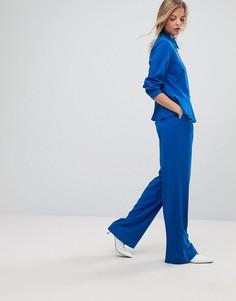Брюки от комплекта с широкими штанинами Gestuz - Синий