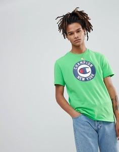 Футболка с логотипом Champion - Зеленый
