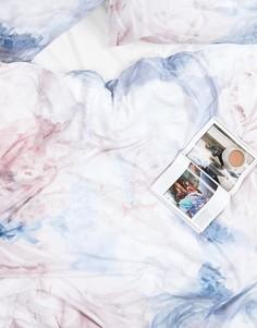 Пододеяльник с цветочным принтом Karl Lagerfeld - Мульти