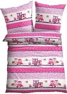Постельное белье Элина, линон (розовый) Bonprix