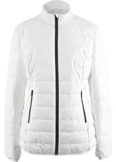 Куртка стеганая (кремовый) Bonprix