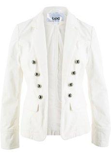 Вельветовый пиджак (кремовый) Bonprix