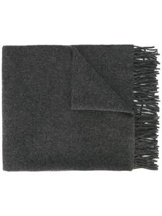 однотонный вязаный шарф Ami Alexandre Mattiussi