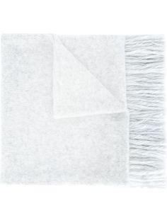 вязаный шарф со скандинавским орнаментом Ami Alexandre Mattiussi