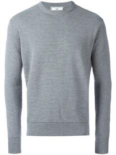 свитер в рубчик Ami Alexandre Mattiussi