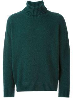 объемный свитер с высокой горловиной Ami Alexandre Mattiussi