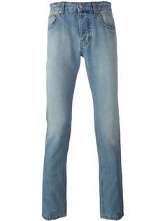 джинсы кроя слим с эффектом потертости Ami Alexandre Mattiussi