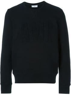 свитер с заплаткой Ami Ami Alexandre Mattiussi
