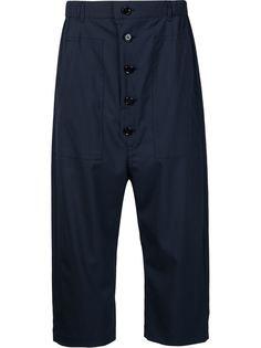 брюки с заниженным шаговым швом Julien David
