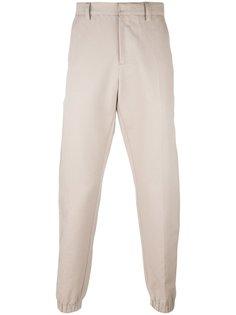 зауженные брюки с эластичными панелями Ami Alexandre Mattiussi