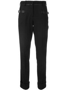 брюки с ремешками на пряжках Vera Wang