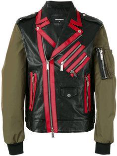 куртка Chiodo с контрастными рукавами Dsquared2