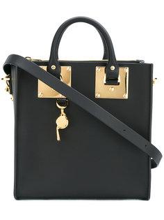сумка-тоут с отделкой металлик Sophie Hulme