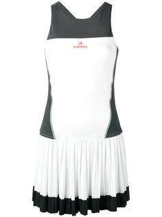 приталенное плиссированное платье  Adidas By Stella Mccartney