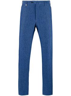 зауженные брюки Corneliani