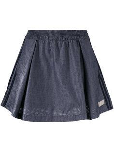 короткая юбка со складками Adidas