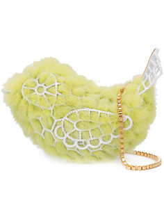 сумка в форме птицы Natasha Zinko