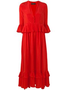 расклешенное платье Rossella Jardini