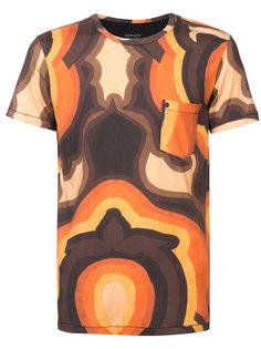 футболка с психоделическим принтом Osklen