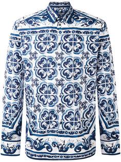 рубашка с принтом пейсли Dolce & Gabbana