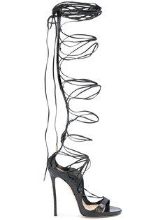 босоножки со шнуровкой  Dsquared2