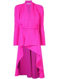 асимметричное пальто Oscar de la Renta