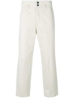 брюки прямого кроя с застежкой на пуговицы Barena