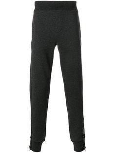 спортивные штаны с лампасами Moncler