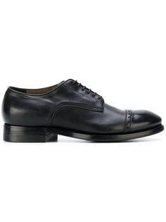ботинки Дерби с перфорацией Silvano Sassetti