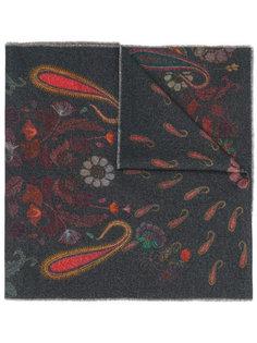 шарф с узором пейсли Paul Smith