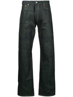 широкие джинсы с графическим принтом Junya Watanabe Comme Des Garçons Man