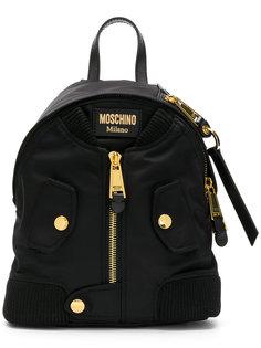 рюкзак в виде куртка-бомбера Moschino