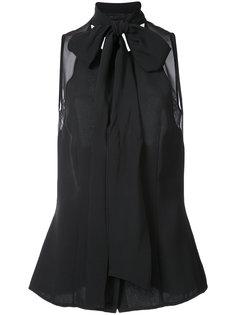 блузка с бантом Carolina Herrera