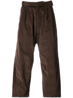 укороченные широкие брюки   Osklen
