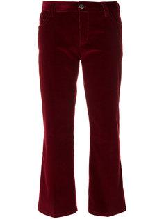 укороченные вельветовые брюки  Prada