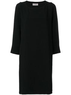 платье шифт со складками Alberto Biani