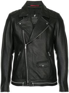 байкерская куртка на молнии Loveless