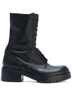 ботинки на шнуровке Strategia