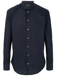 рубашка с закругленным подолом Emporio Armani